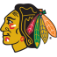 Chicago Blackhawks, 1989 - 1996 logo